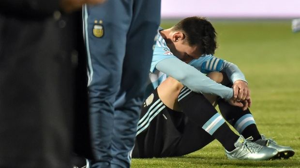 Messi s Argentina trophy will e at some point Lavezzi Goal